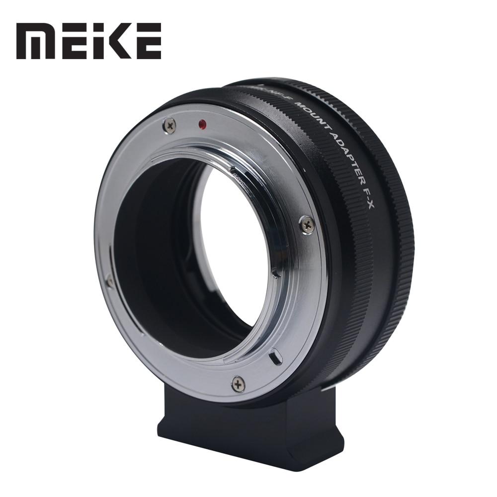 MEIKE MK-NF-F Mount Adapter Ring Professional Design for Nikon F-Mount Lens to Fuji Mirrorless X-mount Camera X-T1 X-T2 X-Pro1 X bodyboard mount