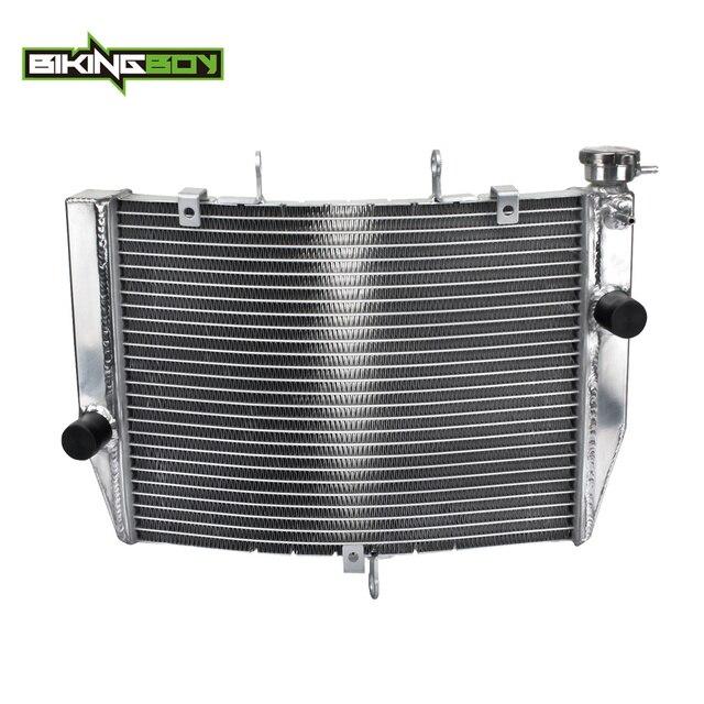 BIKINGBOY Radiator Engine Cooling for KAWASAKI ZX6R ZX6 R ZX-6R NINJA 2009 2010 2011 2012 09-12 Aluminium Alloy Core Motorcycle