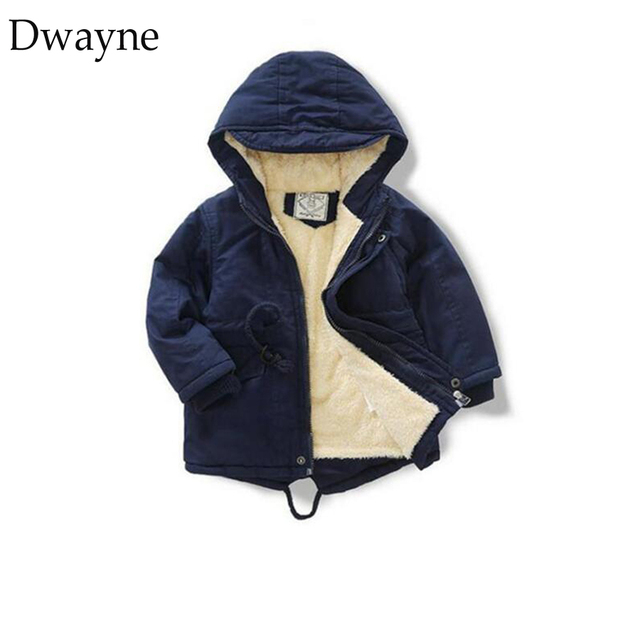 5ab54366c Toddler Boys Coat Winter Jacket Kids Outerwear Clothing Boys Velvet ...