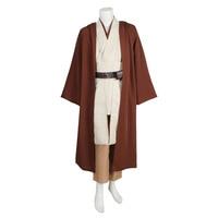 Star Wars Obi Wan Kenobi Jedi Tunic Robe Cloak Halloween Cosplay Costume For Adult Men Custom