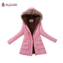 Плюс Размер Толстые Парки Mujer зима 2017 Зимняя Куртка Женщины Casaco женщина для Inverno Feminino Casacos Де Inverno Зимнее Пальто