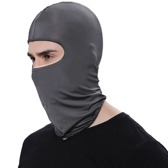 Motorcycle Face Mask Cycling Ski Neck Balaclava Full Face Hat Mask Cover Winter Warm Outdoor Windproof Breathable Mask 5