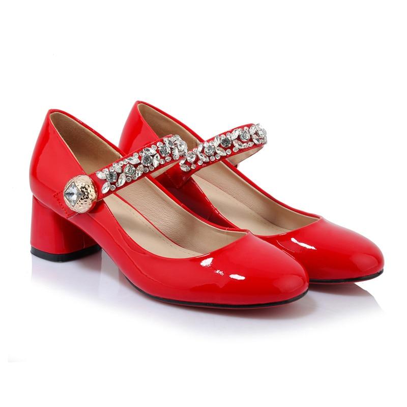 Online Get Cheap Red Mary Jane High Heels -Aliexpress.com ...