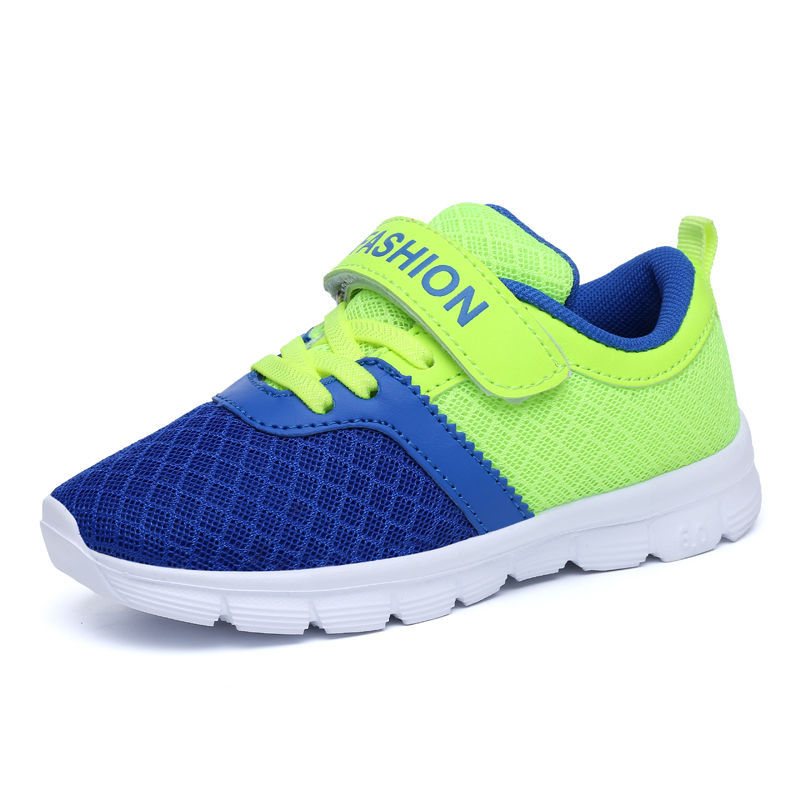 ULKNN Children Shoes Breathable Running Trainer School Student Footwear Mesh Kids Shoes Kids Sport Shoes For Boys Sneakers