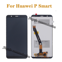 5.65 Original display For Huawei P Smart LCD+touch screen digitizer assembly for Huawei p smart LX1 L21 L22 monitor repair kit original idp smart 650682 siadc p mg gold ribbon for the smart card printer 50s 50l 50d 30s 1200 prints