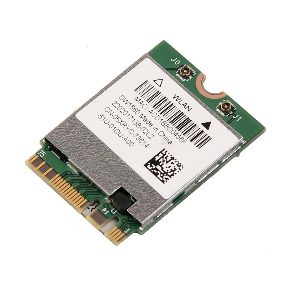 Inalámbrico AC1200 Broadcom BCM94352Z DW1560 867Mbps BT 4,0 802.11ac NGFF M.2 WiFi tarjeta WLAN para ventana portátil Mac Hackintosh OS - 3