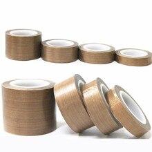 Teflon resistant high temperature adhesive cloth insulation 300 degree vacuum sealing machine teflon tape 10 meter*0.13mm