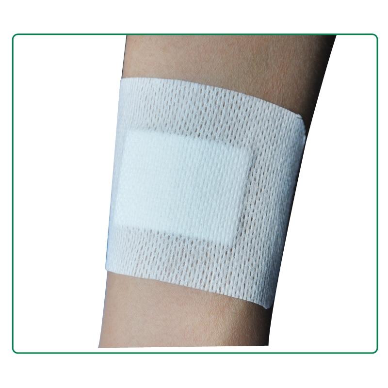 9PCs 10cmX10cm Large Size Hypoallergenic Comfortable Non-woven Medical adhesive wound dressing Gauze Band aid Bandage цена