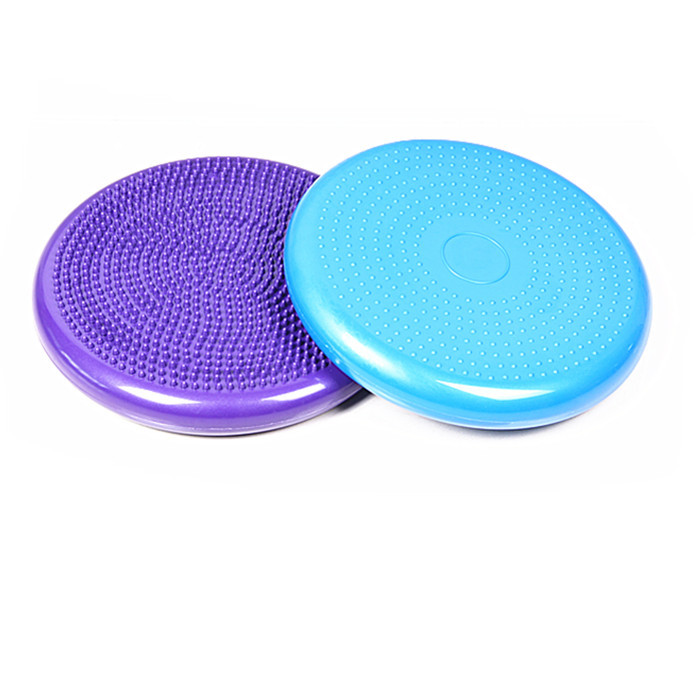 Freie Verschiffenyogamatte die hochwertige PVCyoga-Balancenballyoga-Massagekissenmatte und die weiche Massagebalancenmatte