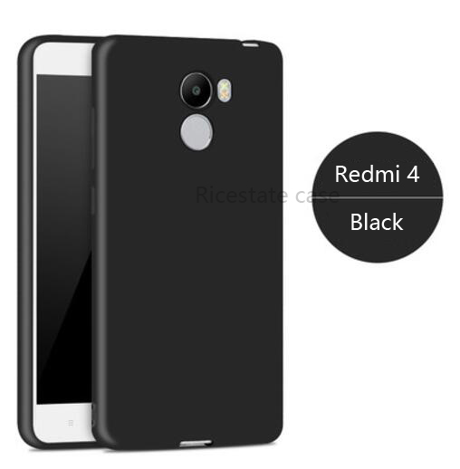 low cost 47547 33ed2 US $0.99 |Xiaomi Redmi 4 2GB/16GB Cover Ricestate brand Super matte tpu  soft back cover For Redmi 4 Frosted sandstone Case-in Fitted Cases from ...