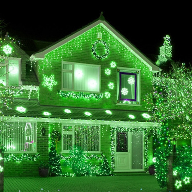 10 Meter Icicle Led Copper Wire Starry String Lights Wedding Fairy Lights Christmas Outdoor Waterproof Garden Tree Lamp H-02