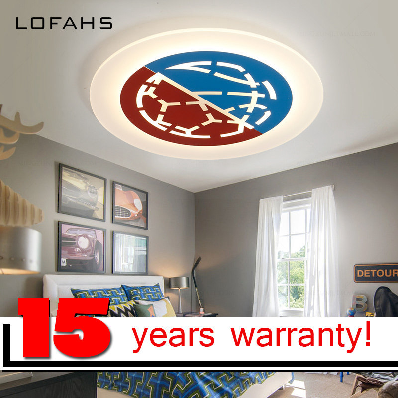 LOFAHS led-lamp ceiling-lights Modern Led Ceiling Lights For Children Bedroom kids room led Ceiling Lamp Dimming fixtures