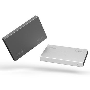 ORICO 2518S3 Aluminum 2.5 SATA Hard Disk Drive box Enclosure HDD SSD External case USB3.0 5Gbps Support 7mm & 9.5mm Grey&Silver
