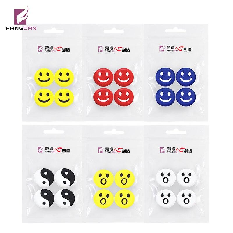 4 Teile/paket Fangcan 100% Silikon Viberation Dämpfer Für Squash Schläger 6 Farben Erhältlich