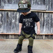 Summer Kids Boys Clothes Set Casual Children's Set Soft Baby