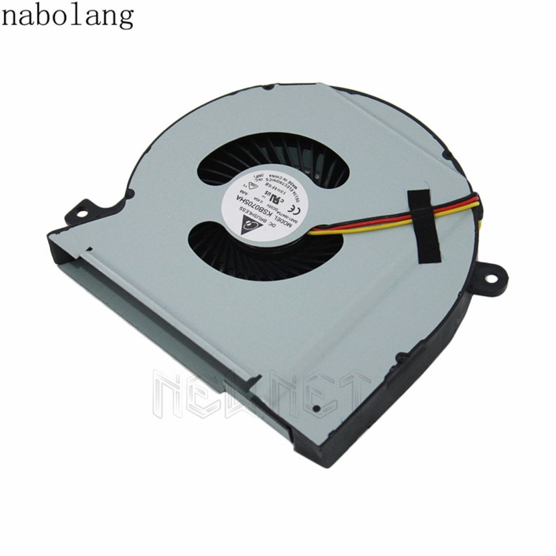 Nabolang New CPU Fan for Dell L501X Laptop Cooling Pads for Dell XPS 15 L502X L501X laptop cooling fan