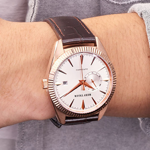 Image 3 - Reef Tiger/RT Top Brand Luxury Mens Watch Automatic Dress Watches Genuine Leather Strap Waterproof Relogio Masculino RGA1616