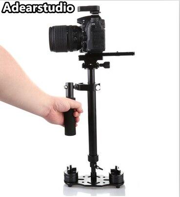 Nouvelle S60 Steadycam S-60 + Plus 60 cm En Aluminium De Poche Stabilisateur Steadicam DSLR Vidéo Caméra Photographie livraison gratuite NO00DC