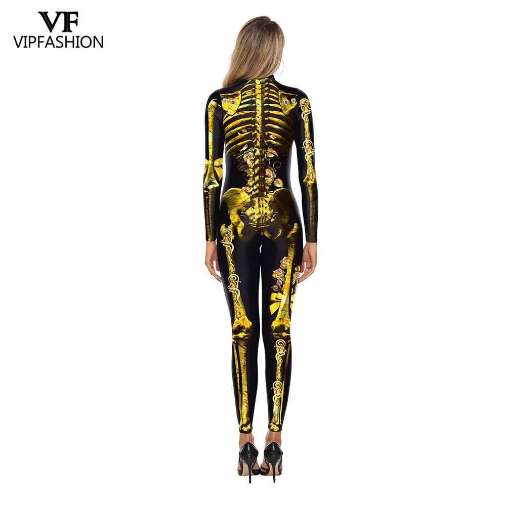 Vip Fashion Mujer 2019 Joker Fiesta De Disfraces De Halloween Para Las Mujeres Cosplay Mono Skinny 3d Película Traje