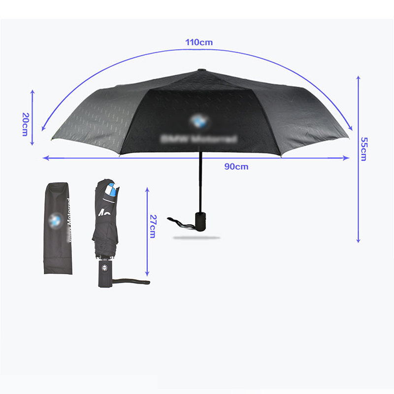 2019 Hot Wind Resistant Folding Automatic Umbrella Rain Luxury Big Windproof Umbrellas Rain For BMW Parasol