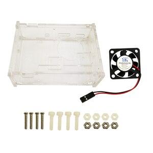 Image 4 - פטל Pi 3 דגם B starter kit pi 3 לוח/pi 3 מקרה/אמריקאי סטנדרטי אספקת חשמל /חום כיור