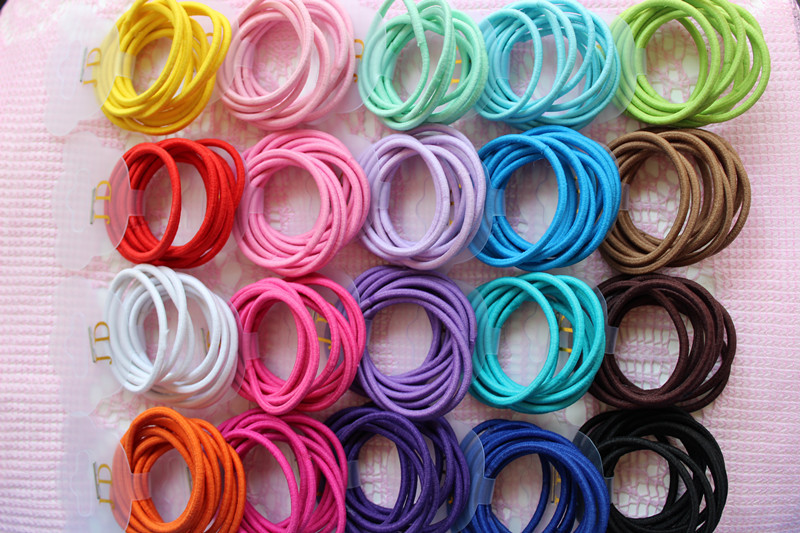 girl hair accessories elastic bands for women Candy Color baby kids  headbands hair ropes hair ties-in Women s Hair Accessories from Apparel  Accessories on ... 2db406489c8