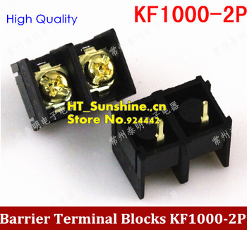 NEW Fence type terminal block KF1000-2p terminal wiring ,Connector connector spacing 10MM  connector