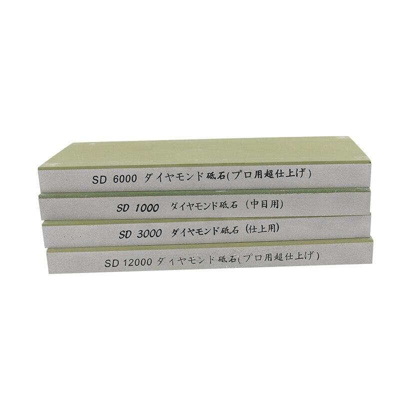 1 pcs 1000 3000 6000 12000 Grit Professional Diamante Resina Grindstone Afiador de facas Afiação Moagem Pedra De Amolar h5