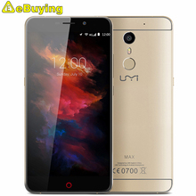 Umi Max 4G Smartphone Android 6.0 MTK6755M P10 Octa Core Cellphone 5.5inch Screen 3GB RAM 16GB ROM 4000mAh Battery Mobile Phone
