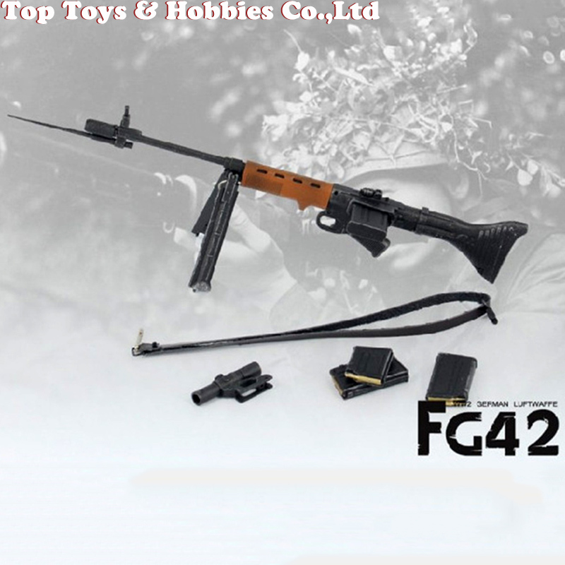 1/6 Scale Model Weapon Toys Paratroopers Rifle Soldier Model For 12 Inches Military Action Figure Soldier Toys Parts Accessory