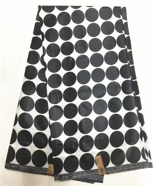 Cheapest-Fabrics African Ankara Cotton Wax Print Fabric 6Yards