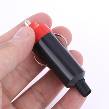 Универсальный Портативный 12 В 10 А автомобильный прикуриватель, автомобильный прикуриватель, разъем, адаптер, красный, черный, аксессуары для автомобиля