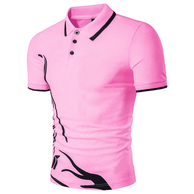 ZOGAA Men   Polo   Shirt Short Sleeve 2019 Summer Casual Business Solid Tops Tee Shirts Cotton Anti-shrink   Polo   Shirt Men Clothing