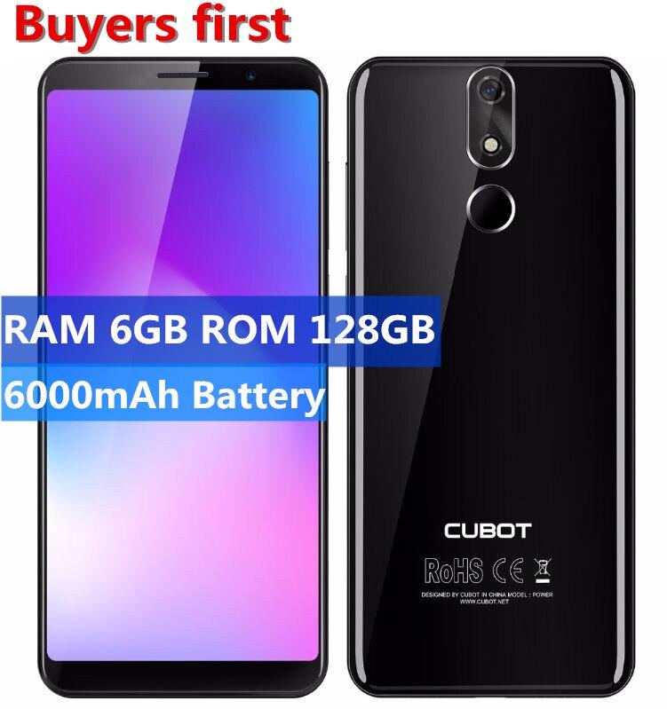 Cubot Power Android 8.1 MT6763 Octa Core téléphone portable 2160*1080 5.99