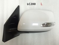 Car Side Rear View Mirror with led turn signal and electric foldable+ heated for Toyota Land Cruiser Wing Mirror