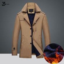 XMY3DWX männer verdickung trenchcoat marke mode hohe qualität fleece plus beiläufige parka mäntel für männer ziehen homme S ~ 4XL