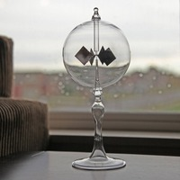 20 5cm 4 Blades Rotating Glass Windmill Solar Powered Crookes Radiometer Light Mill Educational Teaching Study