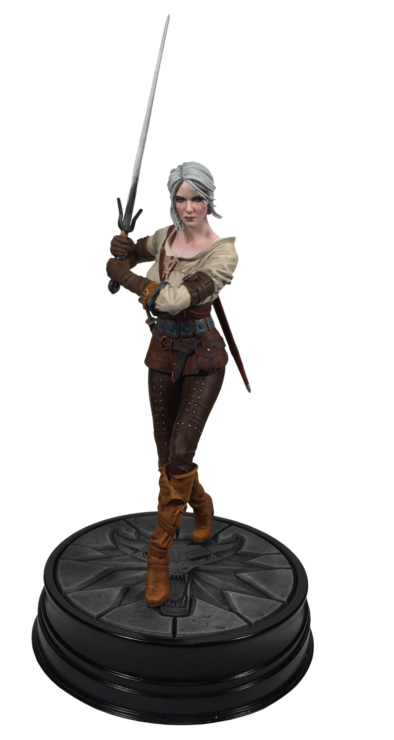 The Witcher 3 Wild Hunt Geralt of Ciri Yennefer 19 CM PVC Action Figure Figuras Brinquedos Model