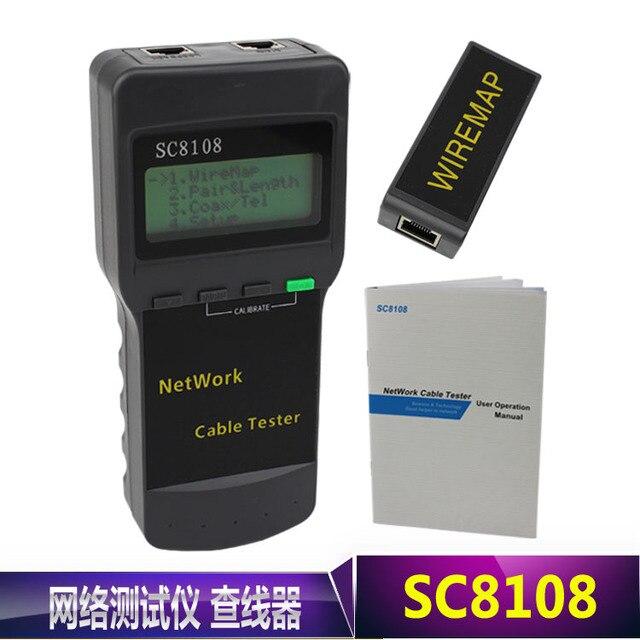 Tragbare multifunktions wireless sc8108 lcd digital PC Daten ...