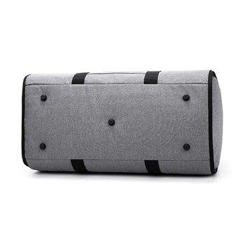 חם 2 ב 1 תליית חליפת נסיעות תיק מזוודות דובון בגד שקיות עם כתף רצועת XJS789