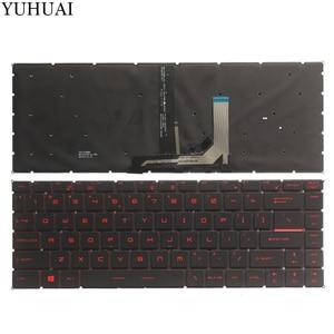 NEW US keyboard FOR MSI GF63 USlaptop keyboard with Backlight