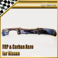 ЭПР Стайлинга Автомобилей Углеродного Волокна Заднего Бампера Диффузор Добавить На Для Nissan Skyline R34 GTR OEM Автомобильная Аксессуары Гонки