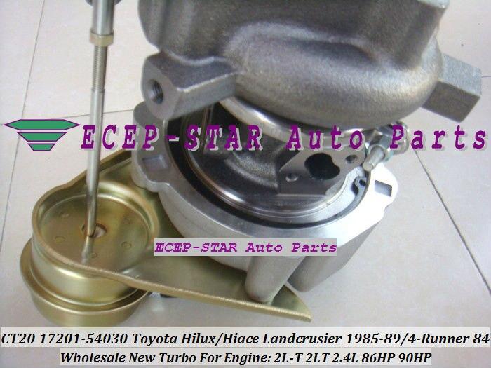 CT20 17201-54030 17201 54030 1720154030 Turbolader Für TOYOTA - Autoteile - Foto 4