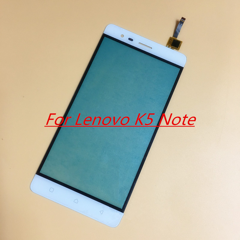 iSIU For Lenovo K5 Note Touch Screen Mobile Phone Touch Panel Front Glass  Digitizer Sensor White Black Golden NO LCD DISPLAY