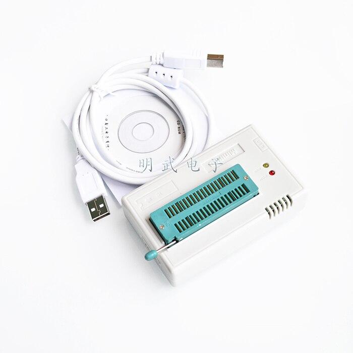 Pengiriman gratis 1 PCS TL866CS TL866 2012 October diperbarui MiniPro Universal programmer Kinerja tinggi 100 baru
