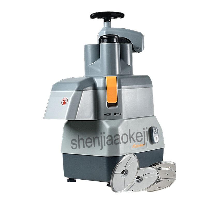 Коммерческая овощерезка многофункциональная электрическая машина для резки нарезки ломтиками картофеля резки проволоки резки 220 В - 3