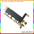 Nuevo y Original del interruptor de alimentación micrófono Flex Cable para Sony Xperia Z3 Dual D6633 piezas del teléfono móvil