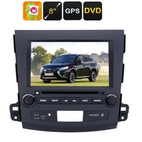 2 DIN Car DVD Player 8 Inch HD Display, Android OS, Quad Core CPU, Region Free DVD, 3G Support, GPS