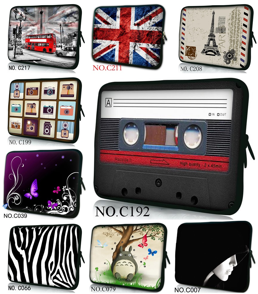Computer Bag Notebook PC Smart Cover tablet For ipad MacBook waterproof Sleeve Case 7 10 12 13 14 15 inch Laptop Bags Tape
