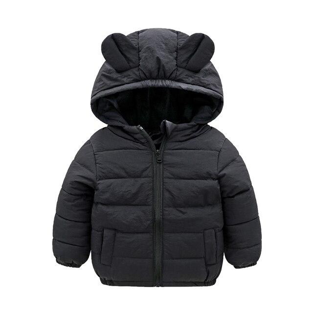 7adf60ff8100 Baby Boys Jacket 2018 Autumn Winter Jacket For Girls Jackets Kids ...